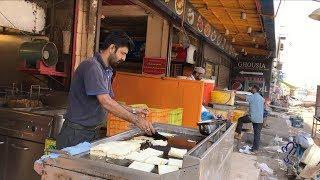 Club Sandwich  street food of karachi, pakistan