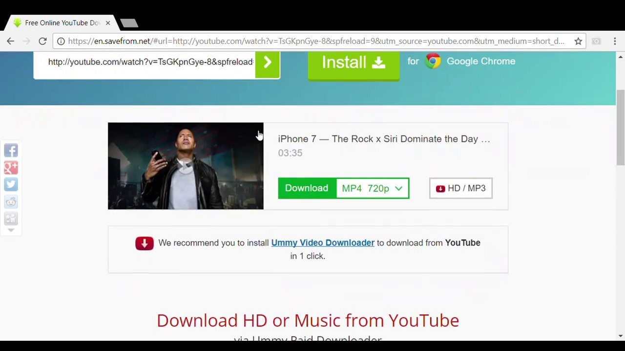 Download You tube Video: Without Any Software For Free