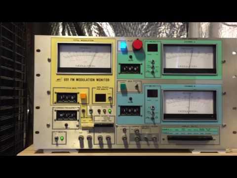 My Home Radio Station Transmitter Modulation monitor