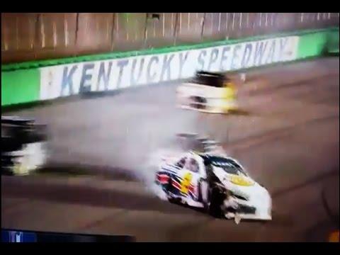 2016 Sarah Cornette-Ching's HUGE ARCA Crash @ Kentucky Speedway - Crosley Brands 150