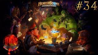КАРТОЧКИ в Hearthstone Heroes of Warcraft - Серия 34 [Открываем бусты и пробиваемся в рейтинге]