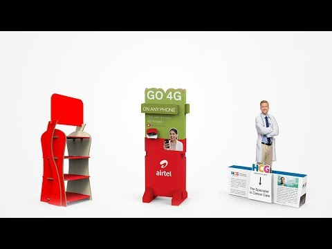 POINT OF SALE [POS] DESIGN ADAPTATION - FSDU/CDU by Stirred Creative