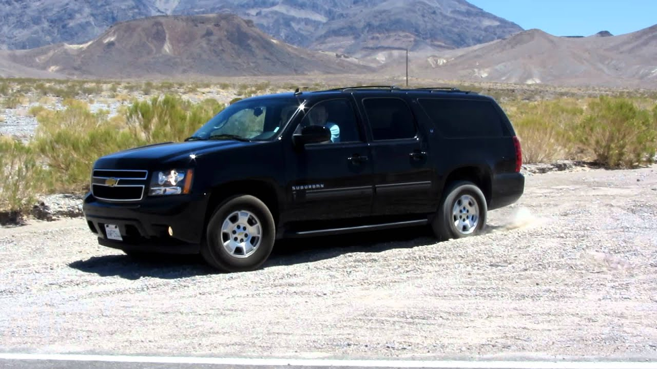 2012 Chevrolet Suburban LT Wheelspin Off Road - YouTube