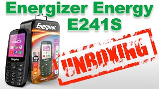 Energizer E241S - Unboxing and First Impression - Smart Feature Phone