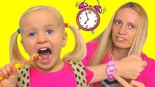 Put On Your Shoes Let's Go Song | Katya Clothing Sing-Along Nursery Rhymes Kids Song