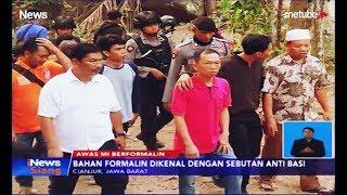 Polisi Gerebek Pabrik Mie Berformalin di Cianjur, 5 Karyawan Ditangkap - iNews Siang 18/09