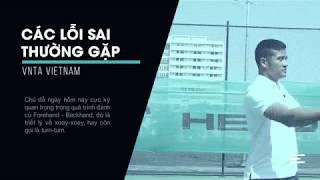 VNTA Tennis - Các Nguyên Tắc Cơ bản Đánh tennis Forehand, Backhand IXoay -TurnI