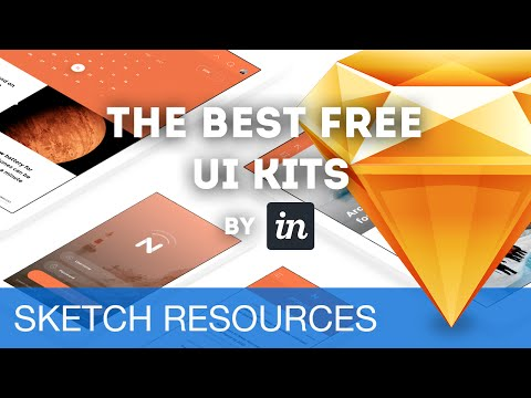 The Best Free UI Kits for Sketch 3 • Sketch Resources - YouTube