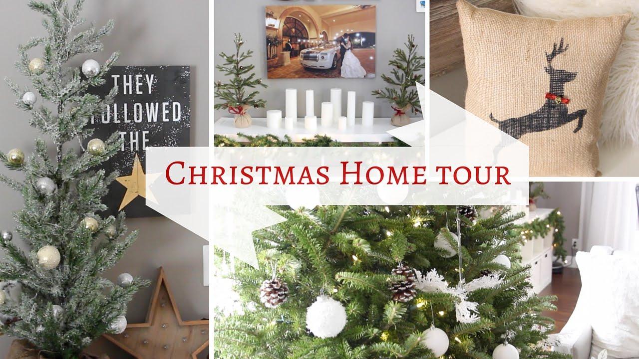 Christmas Home Decor Tour 2015 12 Videos Of Christmas 7 Youtube