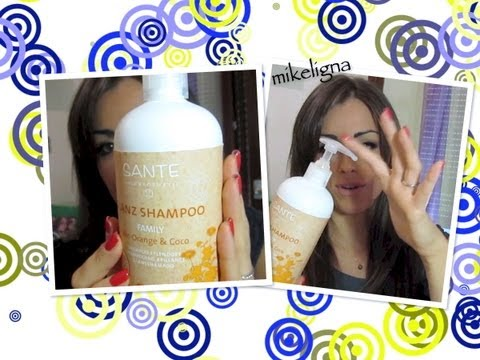 Shampoo Arancia Sante