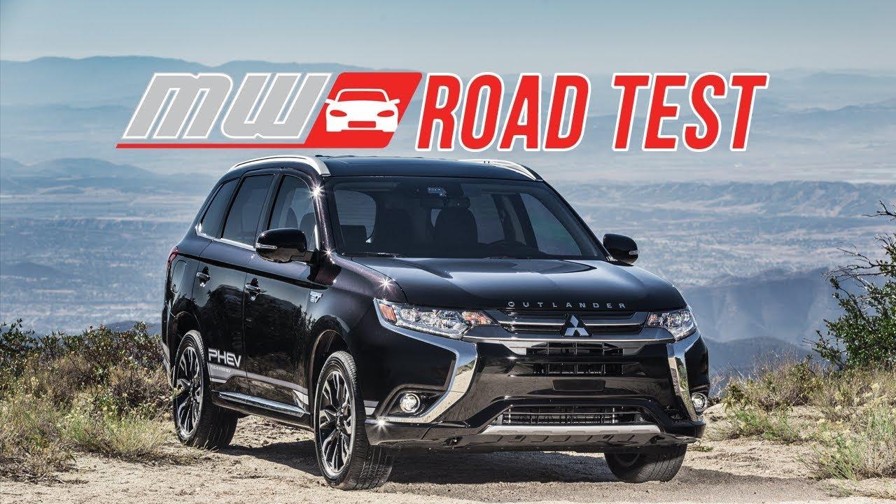 2018 Mitsubishi Outlander Phev Road Test