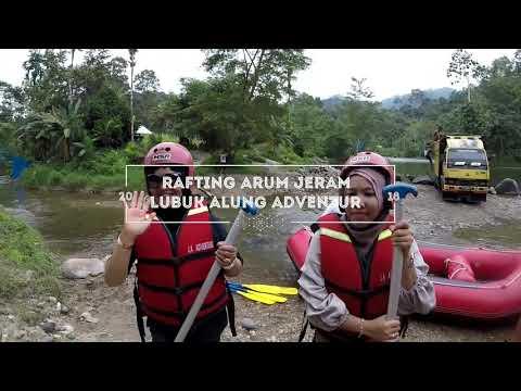 Rafting Arum Jeram Lubuk Alung Padang Pariaman Sumatera barat