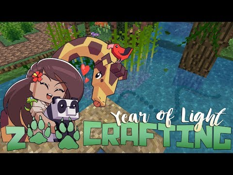 Adorable Water Snakes & Wonderful Woodpeckers!! 🐾🌿 Zoo Crafting: Year of Light • #10