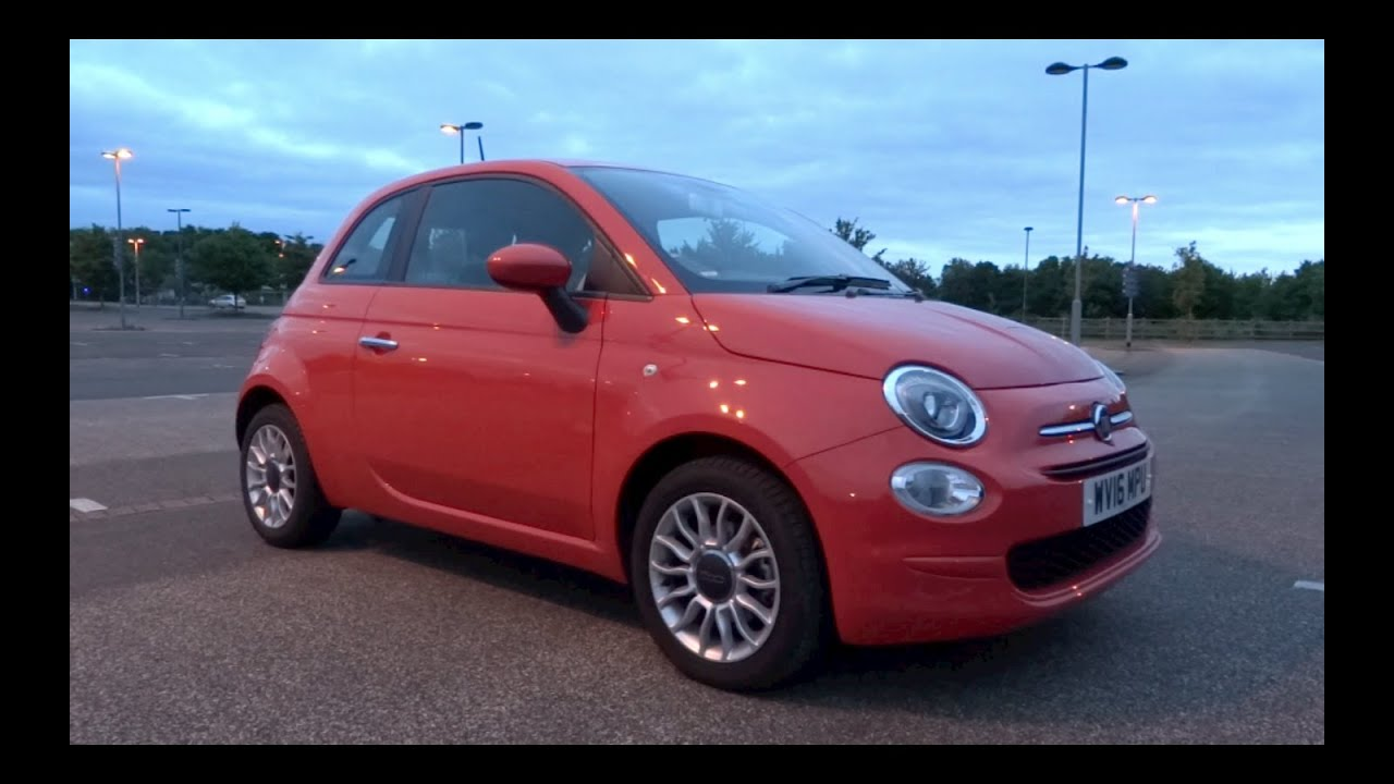 2016 fiat 500 1 2 69 pop star start up and full vehicle tour youtube. Black Bedroom Furniture Sets. Home Design Ideas