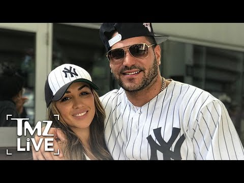 'Jersey Shore' Star Ronnie Claims Baby Mama Spit On Him  TMZ Live