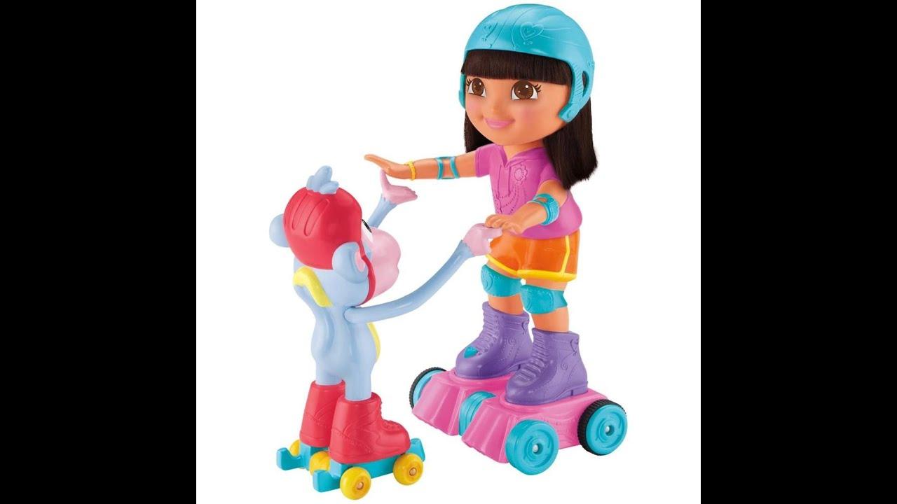 dora lexploratrice et babouche le singe de patinage de glace jouet pour les enfants
