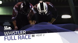Whistler | BMW IBSF World Cup 2017/2018 - 2-Man Bobsleigh Heat 2 | IBSF Official