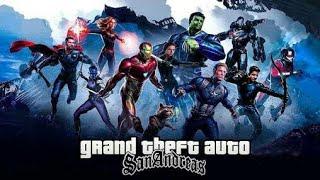 300MB Download Avengers Endgame Gta Sa Modpack Apk+Data