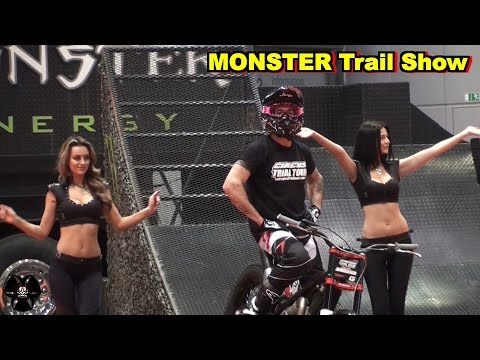 MONSTER Trail Show Teil2 | Motorradmesse Leipzig 2016 | Kenny Thomas & Chris Bruand