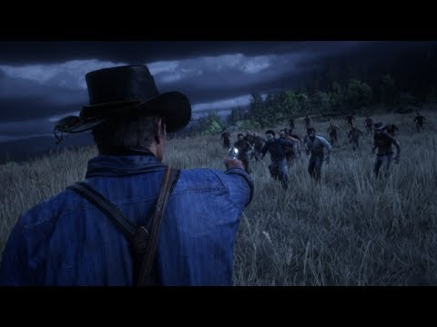 Red Dead Redemption 2 zombie mod for PC looks very promising
