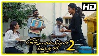 VIP 2 Climax Scene | Dhanush and Kajol patch up | Amala Paul | End Credits | Velai Illa Pattadhari 2