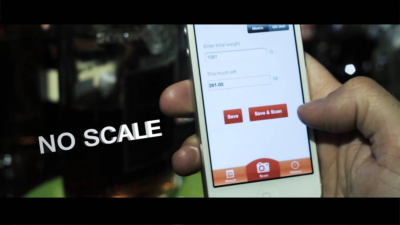 how to use bar scale