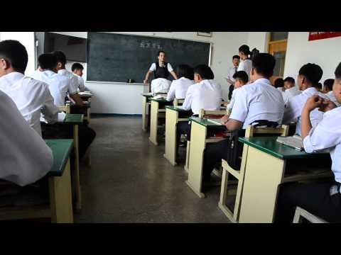 English class in Pyongsong, DPRK (North Korea)