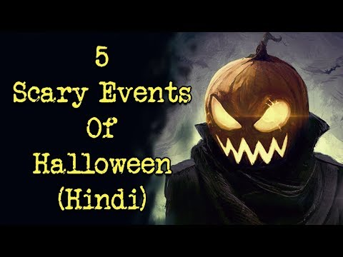 [हिन्दी] 5 Scary Events That Happened On Halloween In Hindi | Part 1 | Real Hindi Horror Story