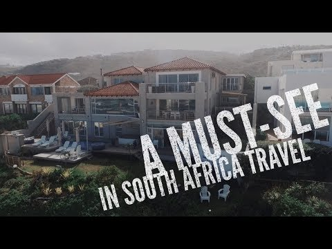 DRONE FOOTAGE of Wilderness, South Africa with Phantom 3 Standard