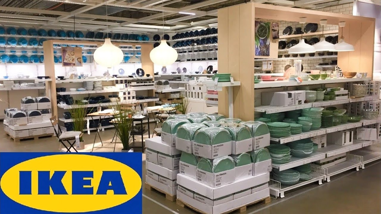IKEA KITCHENWARE COOKWARE KITCHEN DINNER WARE GLASSWARE SHOP WITH ME  SHOPPING STORE WALK THROUGH