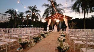 Casamento Lindo ao Por do Sol | A Priscila e o Vitor Esperando o Dudu | Muito Emocionante