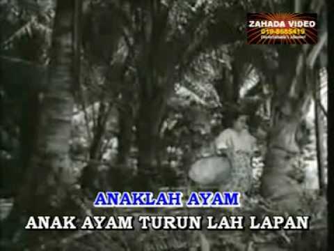 ANAK AYAM (Karaoke) lagu klasik nyanyian dan lakonan M.Zain dari filem