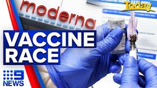 Coronavirus: Moderna seeking US, Europe COVID-19 vaccine approval   9 News Australia