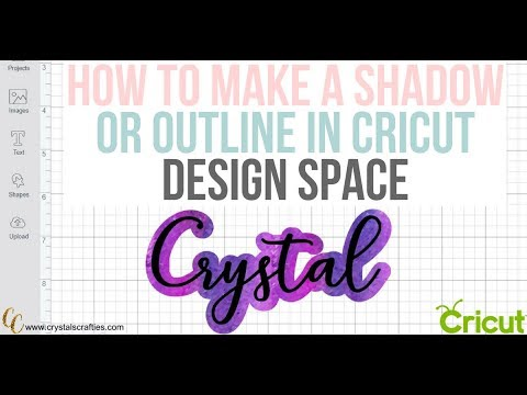 How to create a shadow in Cricut Design Space  YouTube