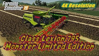 "[""tazzienate"", ""Class Lexion 795 Monster Limited Edition"", ""fs19"", ""4k resolution video"", ""4k video"", ""farm sim"", ""farming"", ""farming simulator"", ""farming simulator 19"", ""farming simulator 19 timelapse"", ""farming simulator 2019"", ""farming simulator mods"","