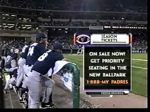 San Diego Padres vs Anaheim Angels March 21, 2000 2nd inning