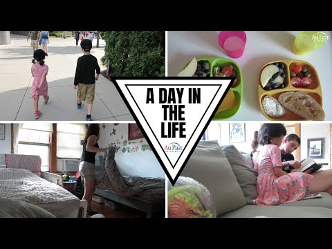 Bea Serein | A DAY IN THE LIFE | Au Pair In America