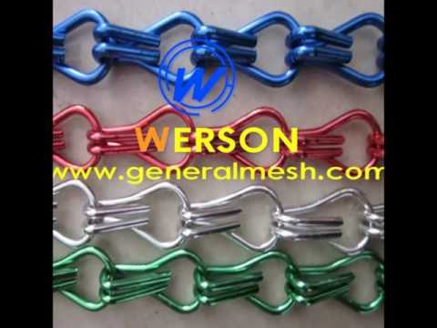 generalmesh rideau-chaînette en aluminium,rideau de porte en ...