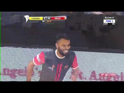 Premier Futsal 2017 Live Stream || Crespo Vs Ronaldinho || Chennai Vs Delhi