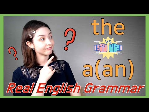 How to Use English Articles: 'The' and 'A/An' (관사 'the,' 'a/an' 사용법)