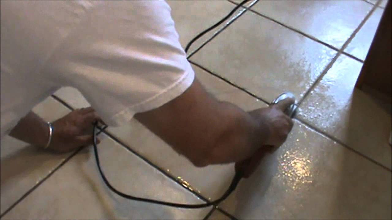 How to clean tile grout lines powertool see description youtube dailygadgetfo Images
