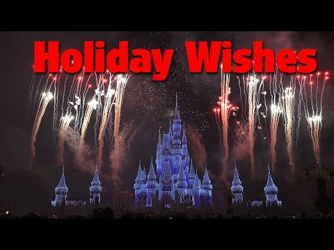 Holiday Wishes  Celebrate the Spirit of the Season  Mickeys Very Merry Christmas Party 2016