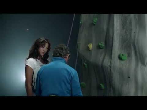 Carlos Soria enseña a escalar a Garbiñe Muguruza