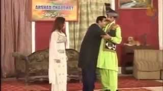 Zafri Khan and Iftikhar Thakur as Pathan Stage Drama Comedy