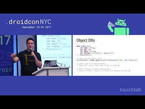 droidcon NYC 2017 - The Resurgence of SQL
