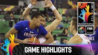 Serbia v France - Game Highlights - Group A - 2014 FIBA Basketball World Cup