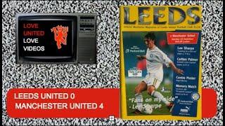 Leeds United Vs Man United 96/97