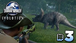 THE GREAT DINOSAUR ESCAPE! - Jurassic World Evolution | Ep3