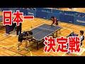 第2回全日本ラージボール卓球選手権大会 一般男子シングルス 決勝 vs武田さん(愛媛)