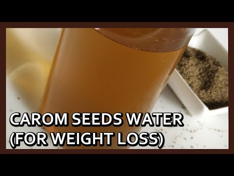 Easy Weight Loss Drink | Carom Seeds Water | Ajwain Water for Fast Weight Loss by Healthy Kadai